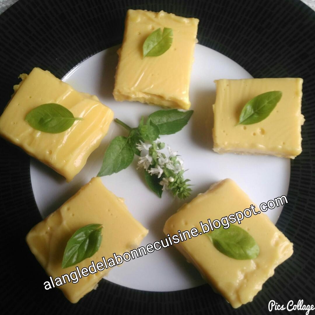 Carr citron facile et rapide l angle de la bonne for Cuisine 7 m carre
