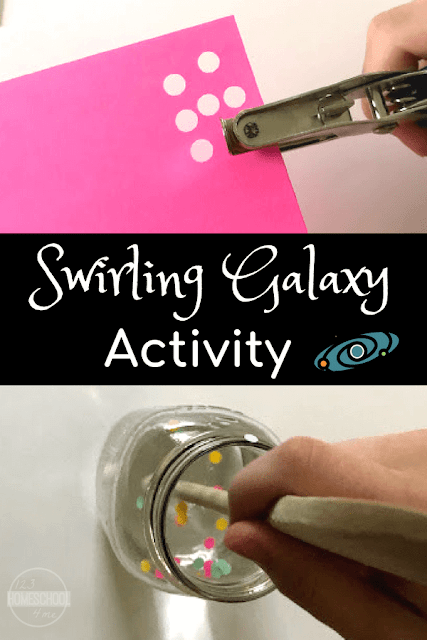 Swirling Galaxy Science Project for Kids