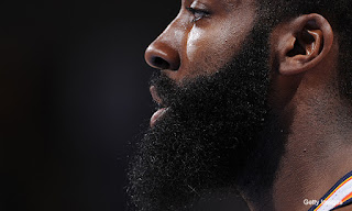 James Harden Overgrown Goatee Pictures