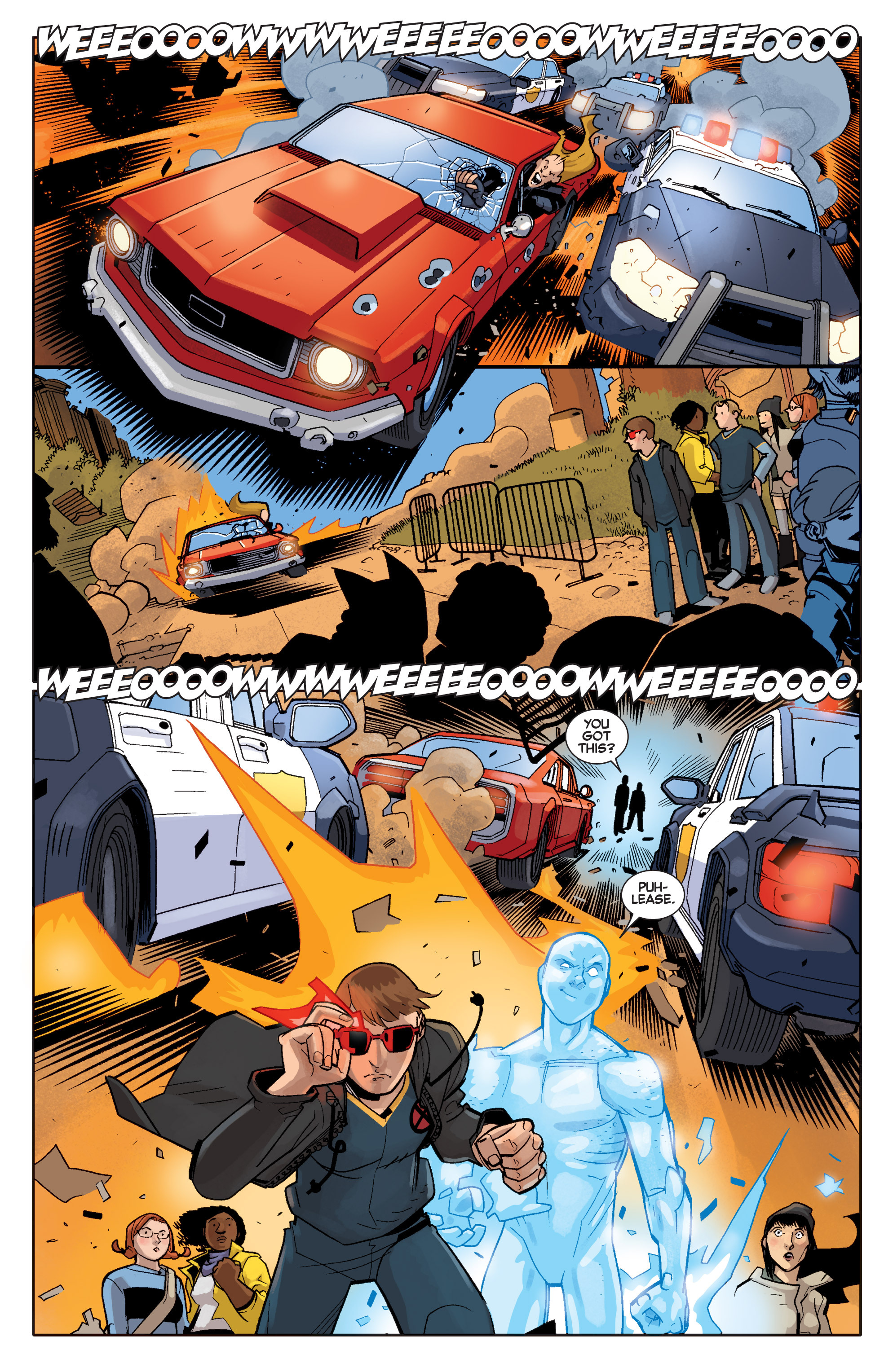 Read online All-New X-Men (2013) comic -  Issue # _Special - Out Of Their Depth - 106