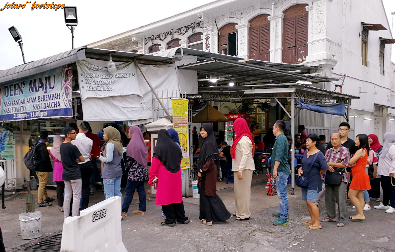 Footsteps Jotaro S Travels Yummy Penang Nasi Kandar Deen Maju