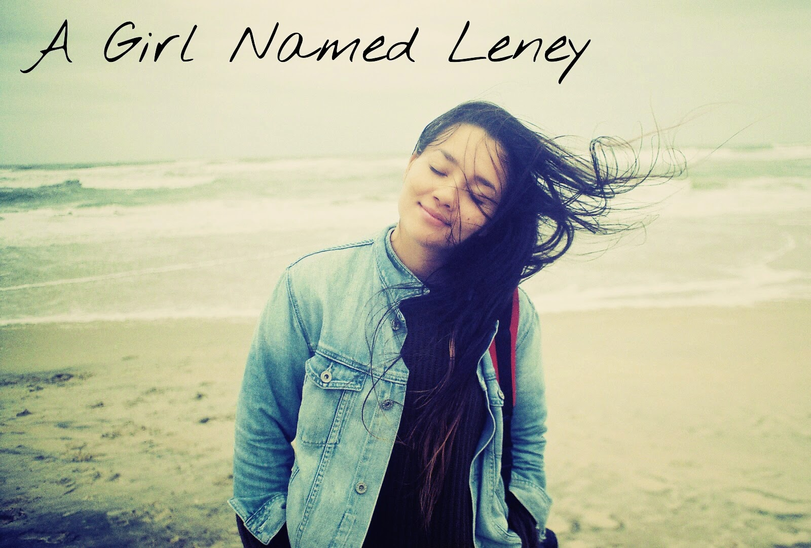 Girl Named Leney Hair In Wind