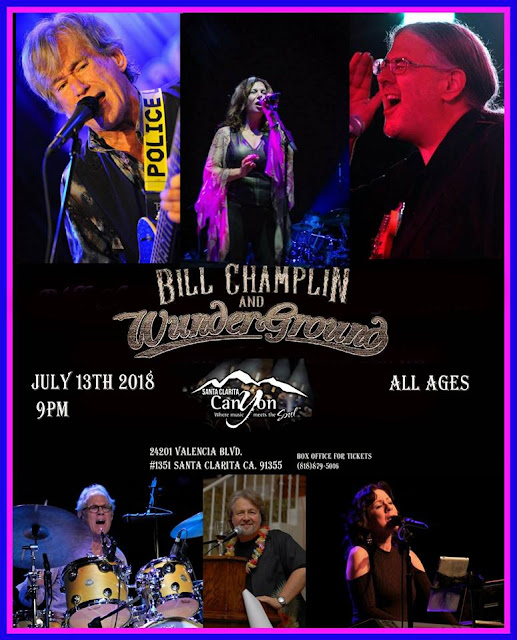 Bill Champlin & Wunderground at the Canyon Santa Clarita 7/13