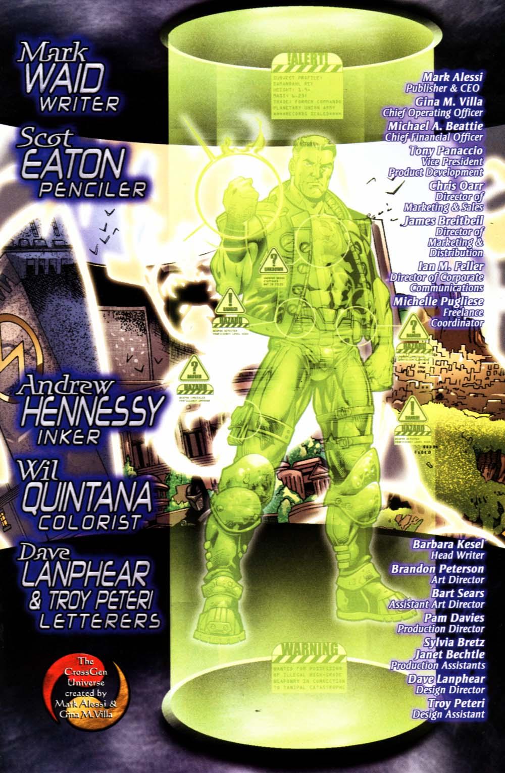 Read online Sigil (2000) comic -  Issue #19 - 28