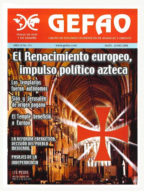 EL RENACIMIENTO EUROPEO, IMPULSO POLITICO AZTECA, Revista GEFAO