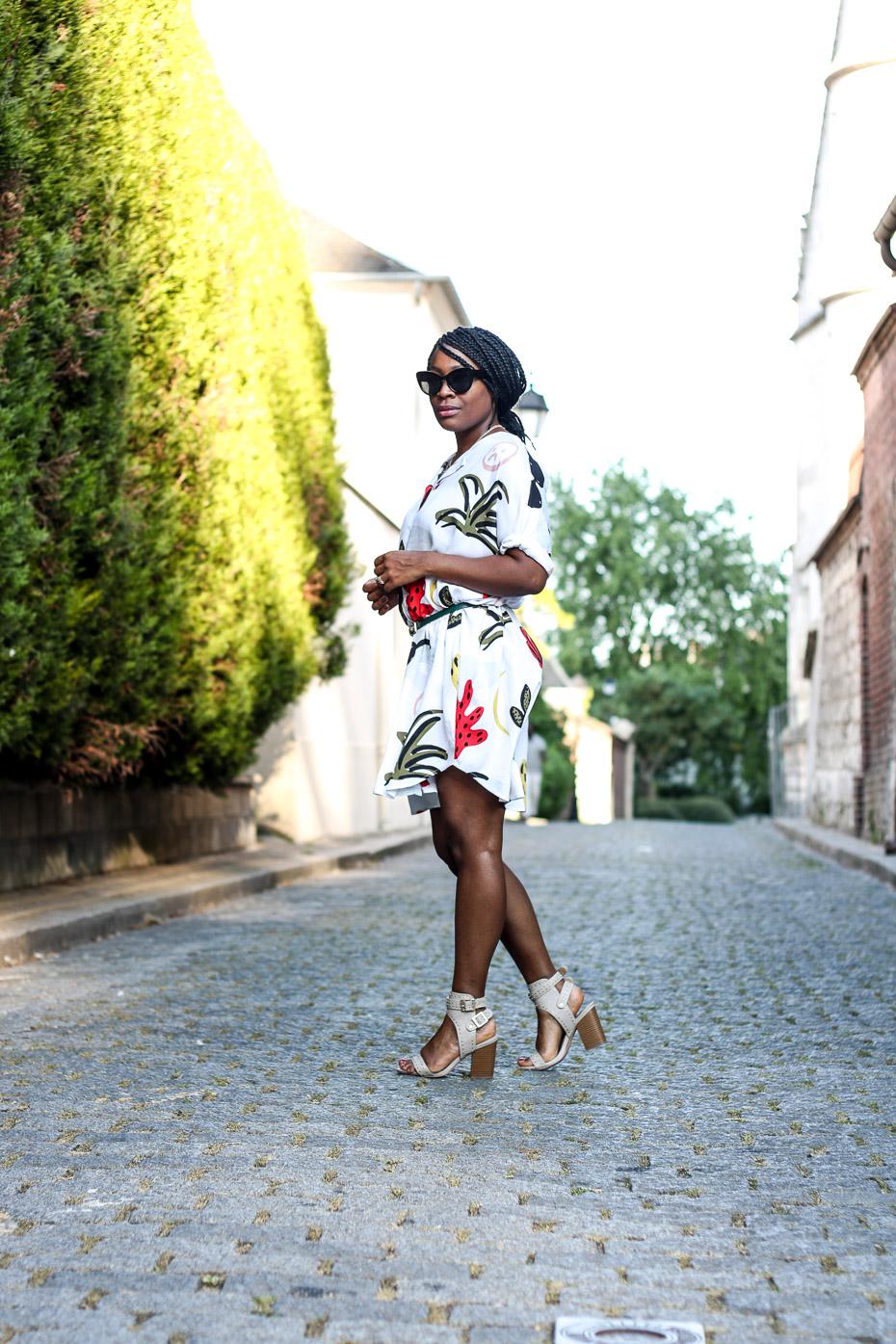 porter-une-robe-colorée