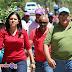 Mercedes Ortiz realiza mano a mano en la comunidad de Palmarito Salcedo