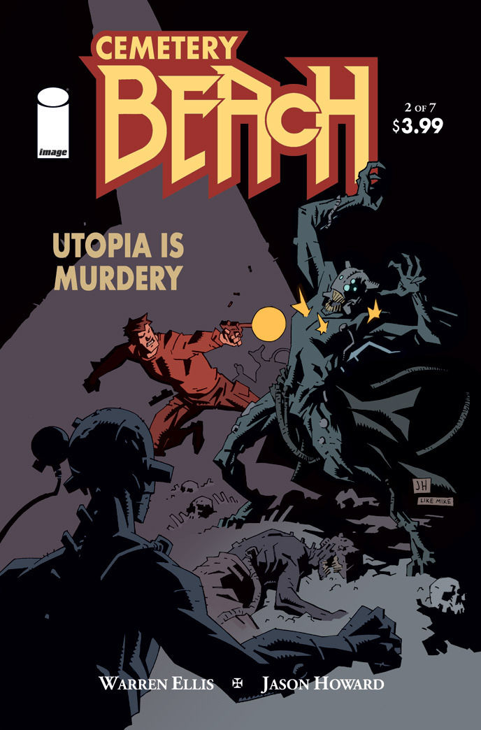 CEMETERY BEACH #2 Cover B Mignola tribute