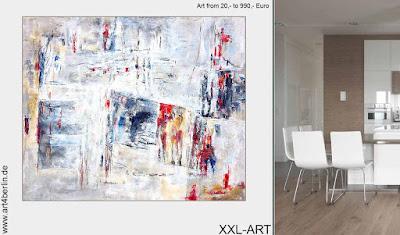 """Große Wandbilder, echte Gemälde, """"Modern Art"""", junge Berlin-Kunst für ein schönes Zuhause!"""