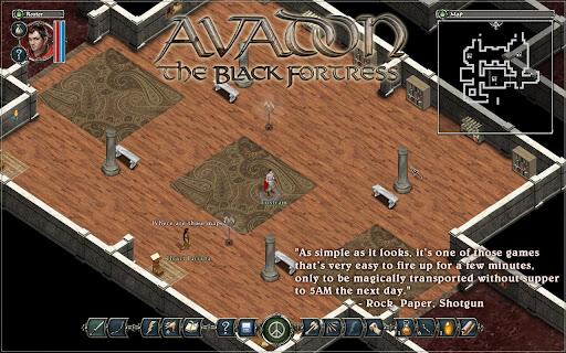 Game: AVADON The Black Fortress Full Version 1.1.1 APK + DATA Direct Link