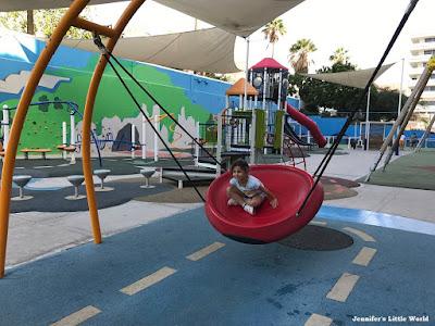 Play area at Bitacora Hotel, Tenerife