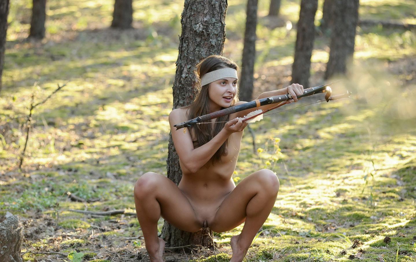 Girls Naked Hunting