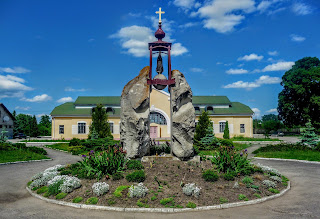 Галич. Привокзальная площадь. Памятник жертвам сталинизма