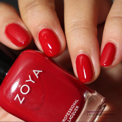 Nail polish swatch and review of Zoya Ming from the winter 2017 Party Girls collection