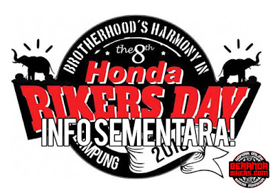 Info sementara Honda Bikers Day 2016