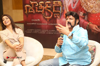 Shriya Saran Nandamuri Balakrishna at Gautamiputra Satakarni Team Press Meet Stills  0189.JPG