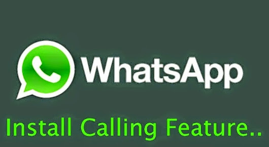 WhatsApp Calling Feature For Android Smartphones. « Cyber Security