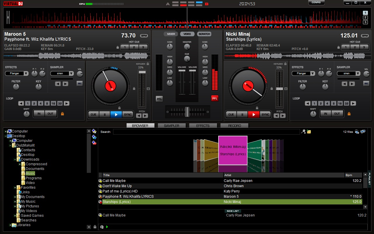Learn to dj with virtual
