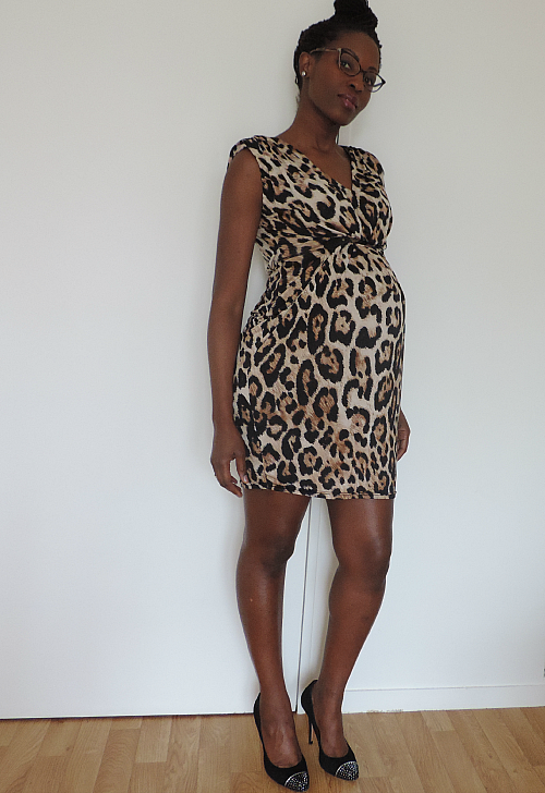 Nappy-Leopard-Look-Baby-bump-Dress