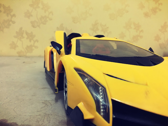 Funny moments with my RC Lamborghini car