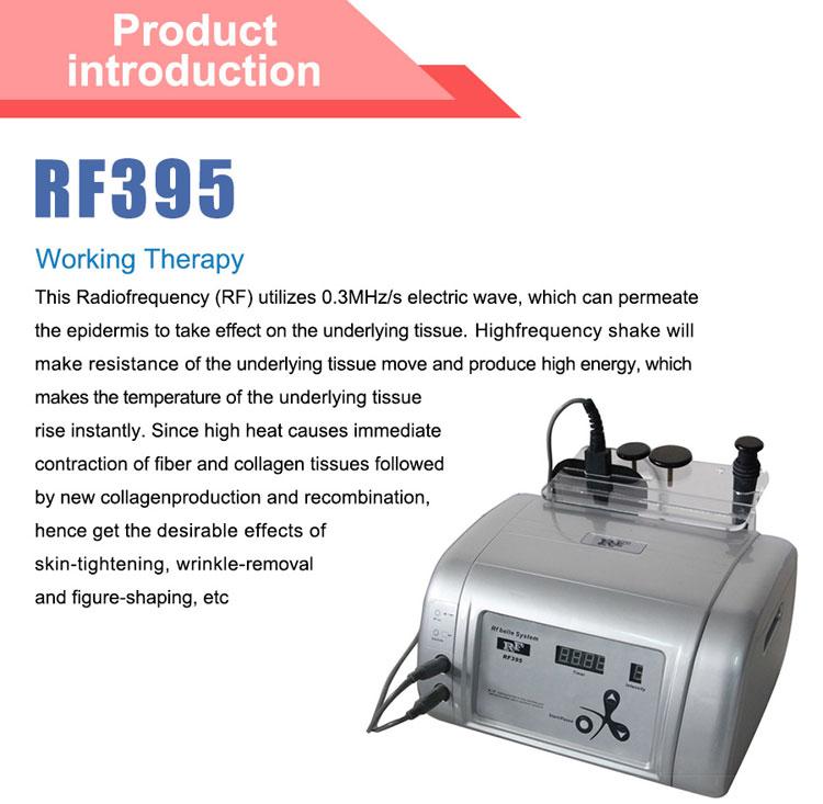 Korean Protable Rf Skin Care Amp Body Slimming Machine Rf395