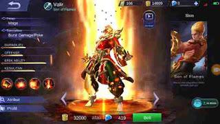 Guide Valir Mobile Legend, Build, Skill, Ability Yang Cocok, Hingga Tips Menggunakannya