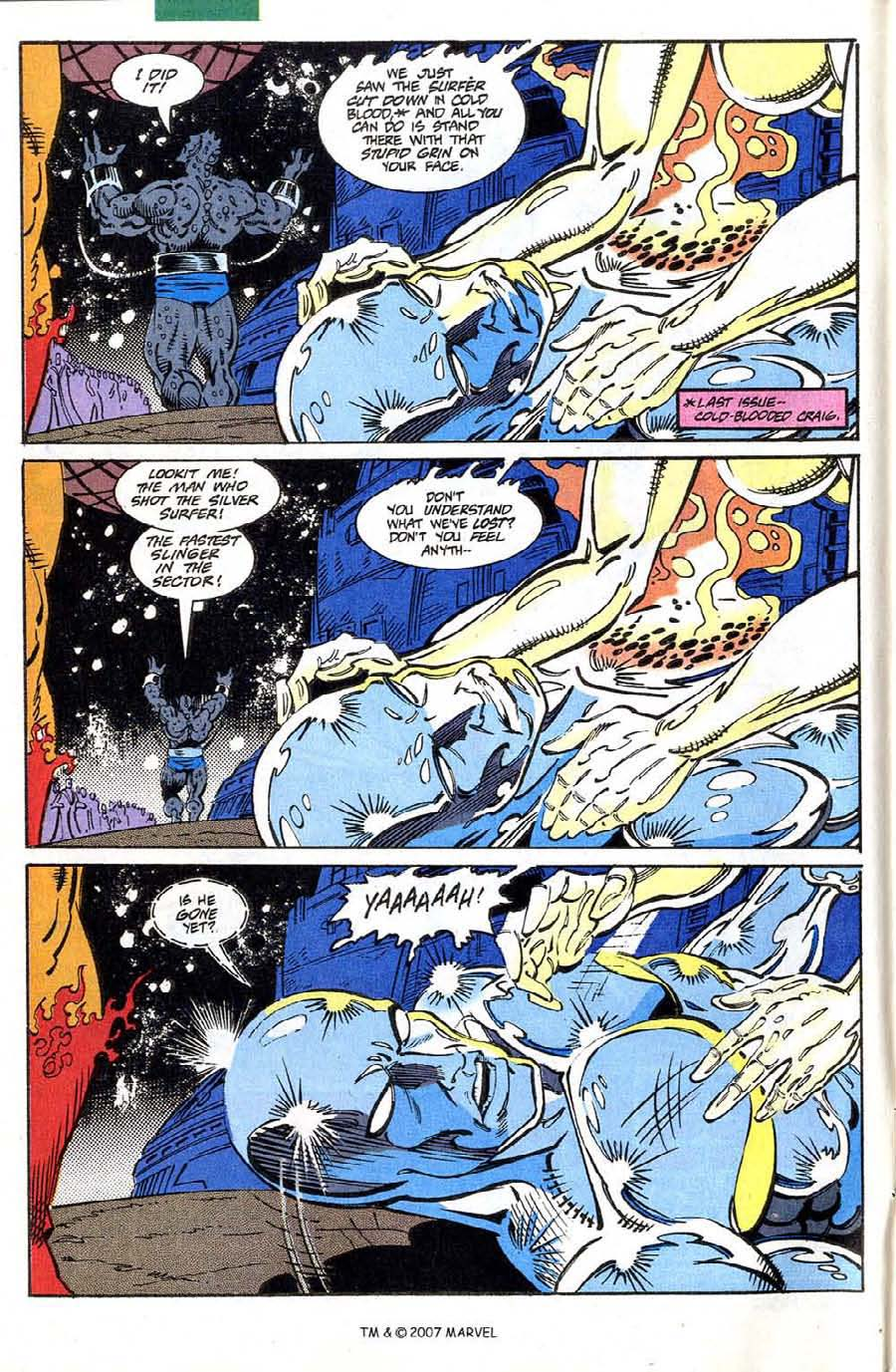 Read online Silver Surfer (1987) comic -  Issue #73 - 4