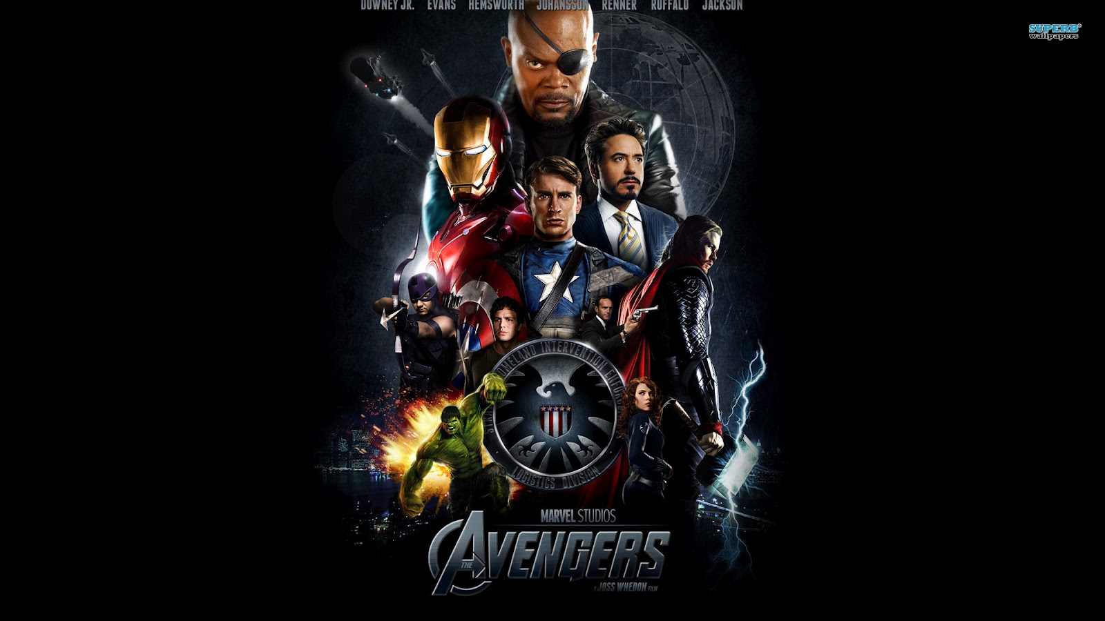 Avengers Wallpaper: Free Hd Wallpapers: The Avengers Hd Wallpapers