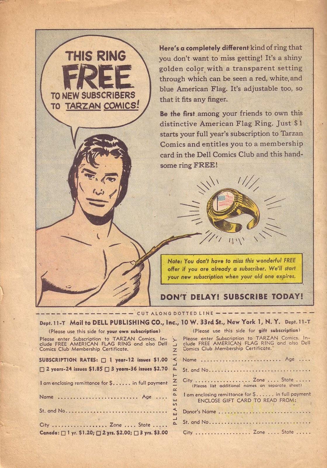 Tarzan (1948) issue 50 - Page 50