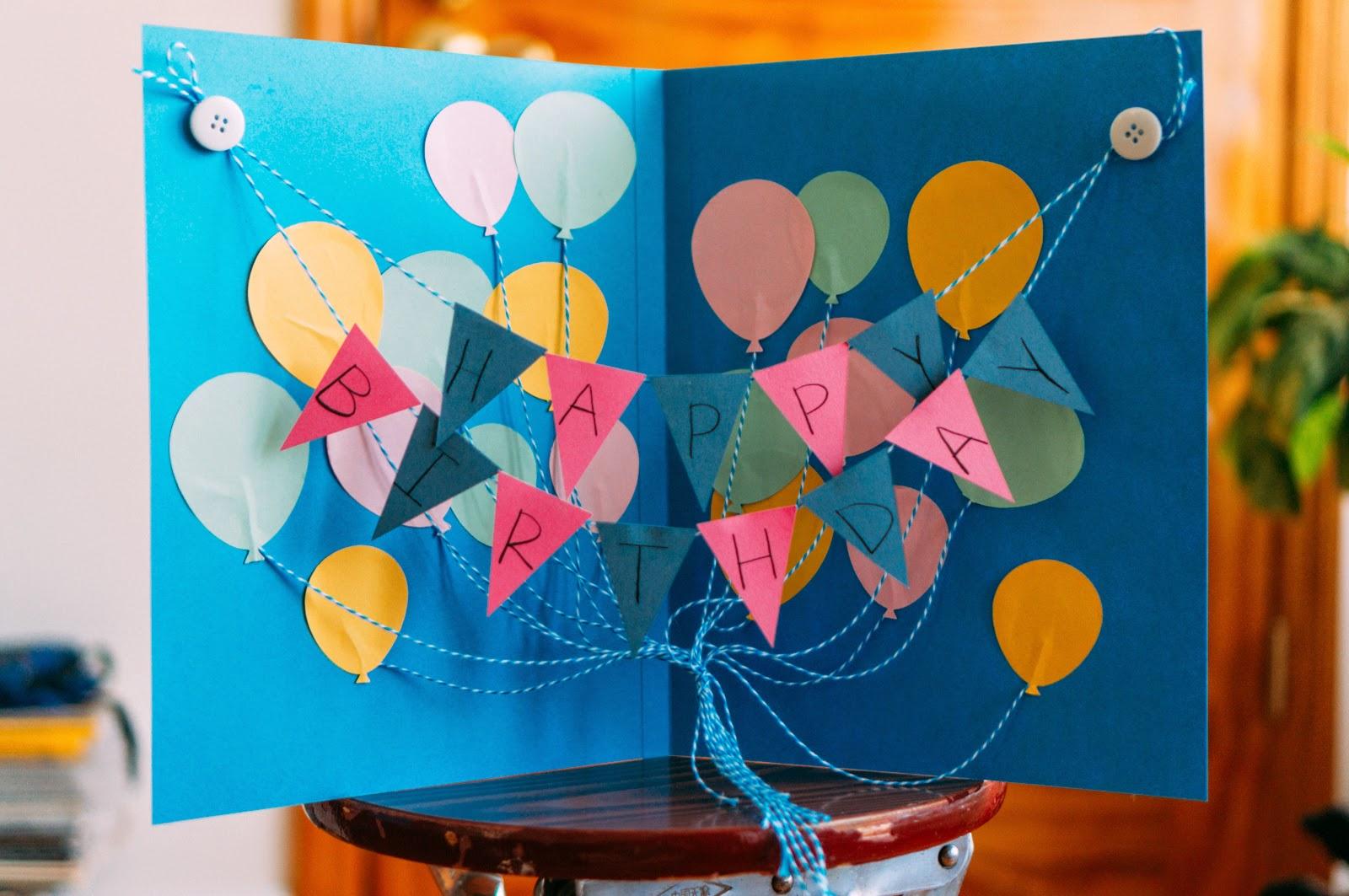 paper mementos crafting days a big happy birthday card