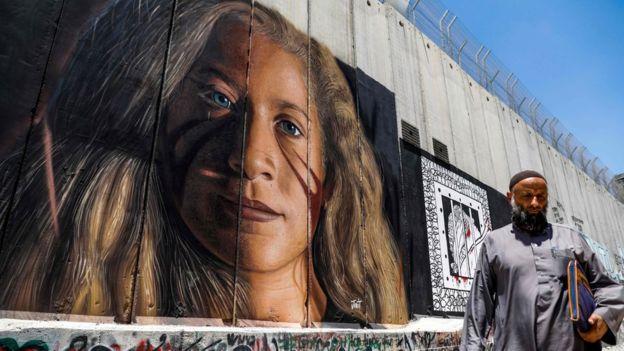 Lukis Mural Ahed Tamimi, 2 Warga Italia Ditangkap Pasukan Israel