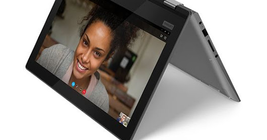 Lenovo Ideapad Yoga 330 2SID, Laptop Hybrid Bertenaga Intel Gemini Lake