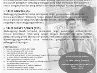 Lowongan Kerja PT. TAFS Cabang MANADO