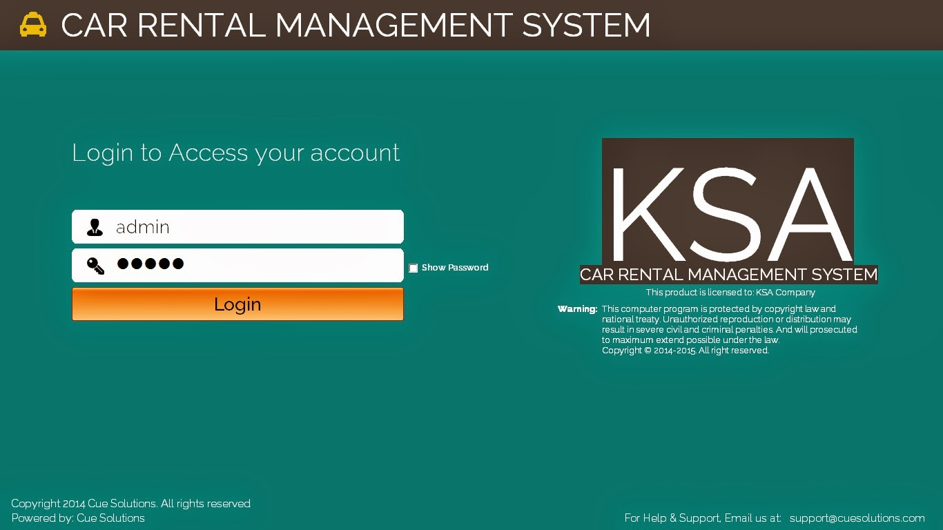 Download Car Rental System Project In Vb