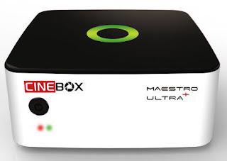 ATUALIZAÇÃO CINEBOX MAESTRO + ULTRA - 10/08/2017