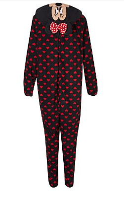 many choices of cheap price browse latest collections Womens Onesies: George Asda Bargain Minnie Mouse Disney Onesie