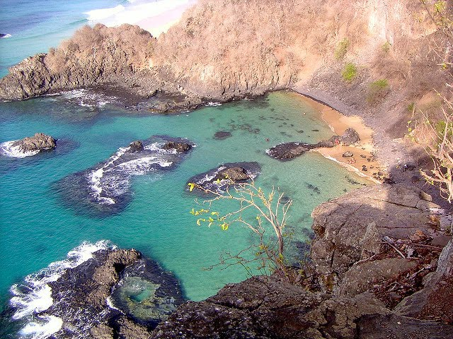 Baia Do Sancho is considered Brazil's most beautiful beach