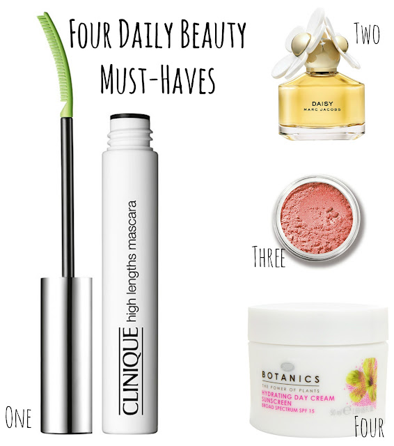 Four Daily Beauty Must-Haves - www.greysuede.com