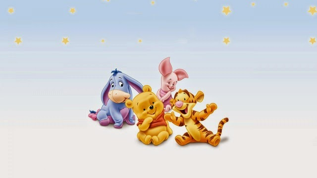 Disney Character Wallpapers -  Winnie The Pooh