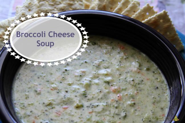 Creamy Broccoli Cheese Soup