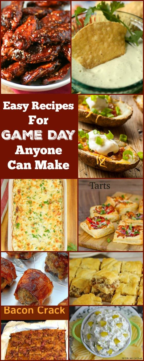 9 Easy Game Day Recipes