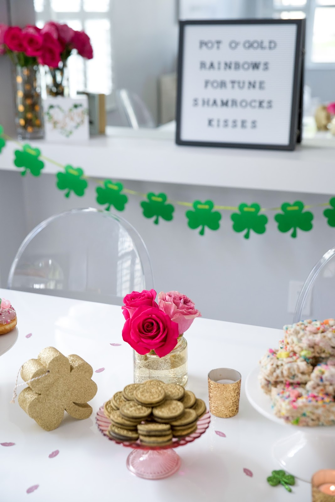 Girly St Patricks Day Party by popular South Florida party blogger The Celebration Stylist