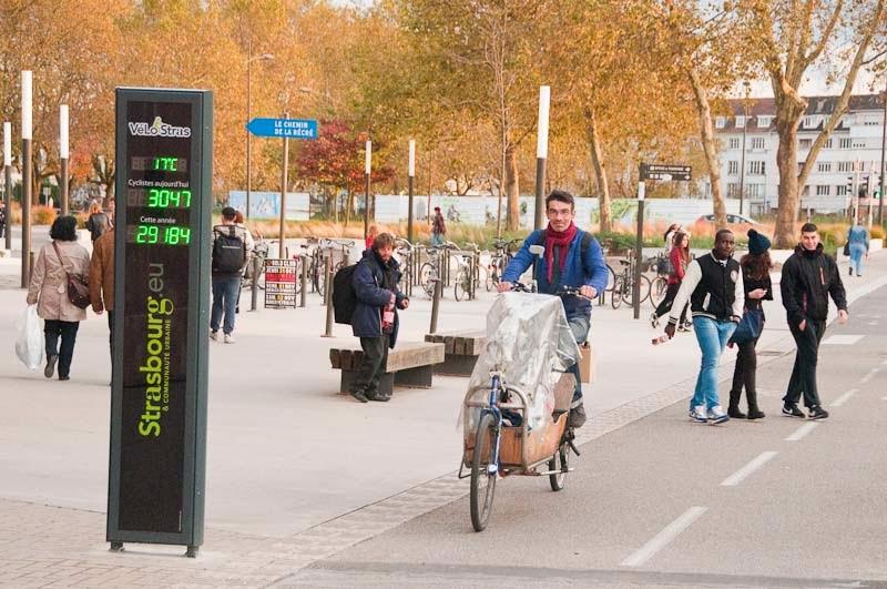 Image result for vélo totem compteur