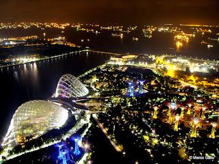 MARINA BAY, ICONO DE SINGAPUR