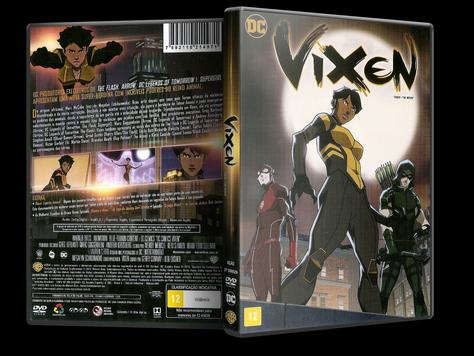 Capa DVD Vixen (Oficial)