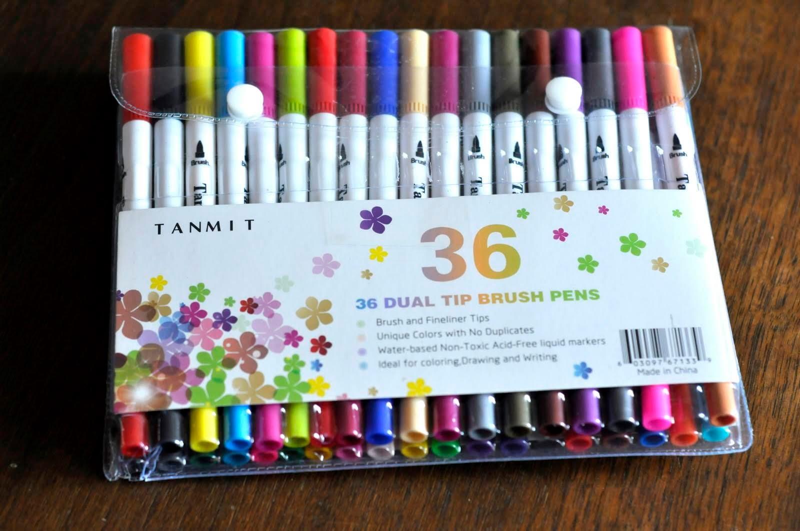 Tanmit-Dual-Tip-Brush-Pens-tasteasyougo.com