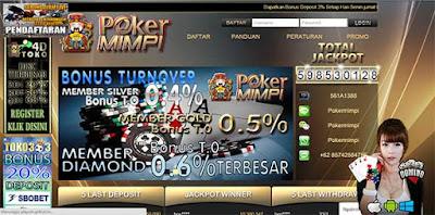 Review Pokermimpi Agen Judi Poker Online Tanpa Robot Terpercaya