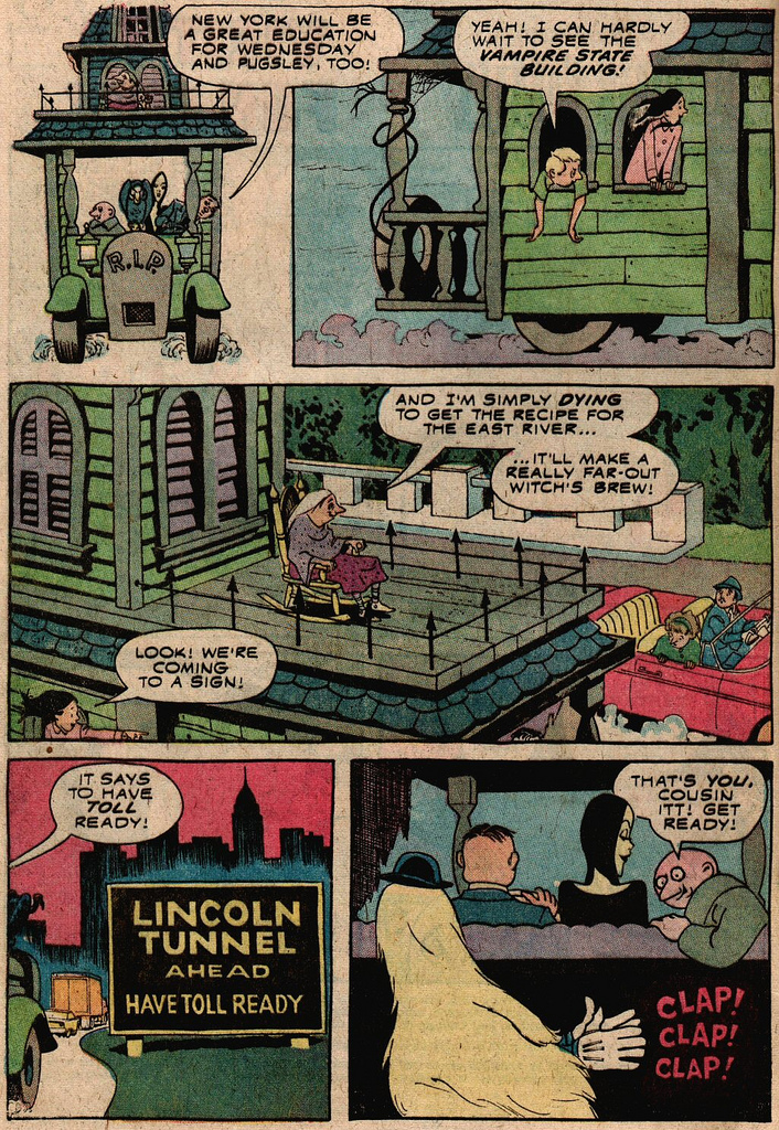Read online Addams Family comic -  Issue #2 - 20