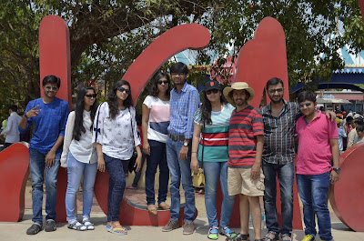 Group Photo at Imagica