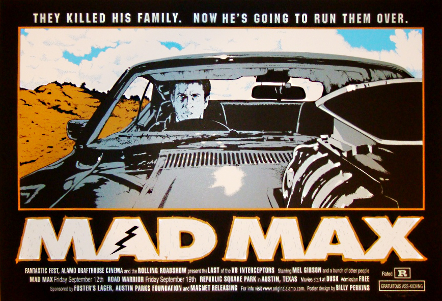 1979 Movie Posters: The Geeky Nerfherder: Movie Poster Art: Mad Max Trilogy